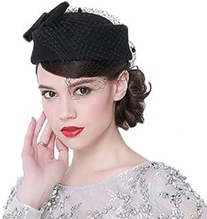 Mujeres Chicas Modernos Mantilla Schleife Sombrero Cloché Sombrero de Pesca Sombreros de Boda