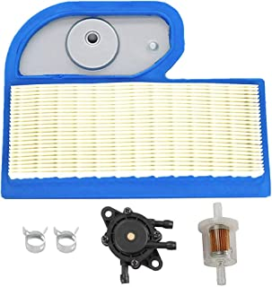HIFROM M137556 Air Filter with Fuel Filter Fuel Pump for John Deere LT190 LT180 LTR180 LX277 LX279 LX288 LX280 GT235 GT235E GX325 325 335 345 Lawn Tractor Lawn Mower