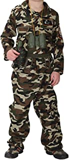 Kids Camoflage Army Costume Special Force Soldier Uniform Woodland Camo Tactical Suit Halloween Fancy Dress
