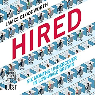 Hired audiobook cover art