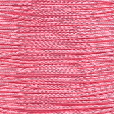 PARACORD PLANET Tactical Nylon Cord 275 LB Tensile Strength 5 Strand Core Paracord Spools - 250 Foot and 1000 Foot Size Options (Rose Pink, 250 Feet)