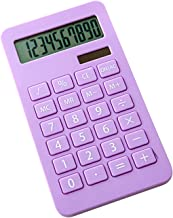 $50 » Calculator Portable Desk Calculator 10 Digits Display Button Battery Dual Power Accounting Tool School Office Supplies Off...
