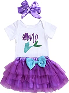 little mermaid first birthday outfit