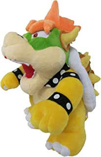 WMBDL Super Mario All Star Collection 25cm Bros Plush Bowser Soft Stuffed Plush Toy 10 Inch Tall Prime (Yellow)