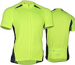 FIOLLA Cyclo-Dri Mens Cycling Jersey, Neon Hi Viz - Sale - MSRP $39.95