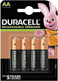 Duracell acculader Grootte AA Ultra - 2500 mAh 4 Stuk oranje/zwart