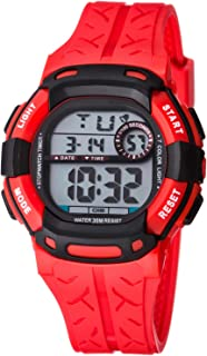 Kids Watch Sport Multi Function 30M Waterproof LED Alarm Stopwatch Digital Child Wristwatch for Boy Girl