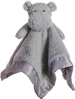 Apricot Lamb Stuffed Animals Hippo Security Blanket Infant Nursery Character Blanket Luxury Snuggler Plush Baby Lovey(Hipp...
