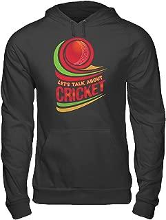 Talk About Cricket-Men Women Indian Australian Hoodie