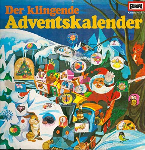 Der klingende Adventskalender / Bildhülle / Europa E 2012 / 12 Zoll 30 cm Vinyl Langspiel-Schallplatte / Schleswiger Domchor / Kinderchor Vera Schink / Naher Kinderchor /