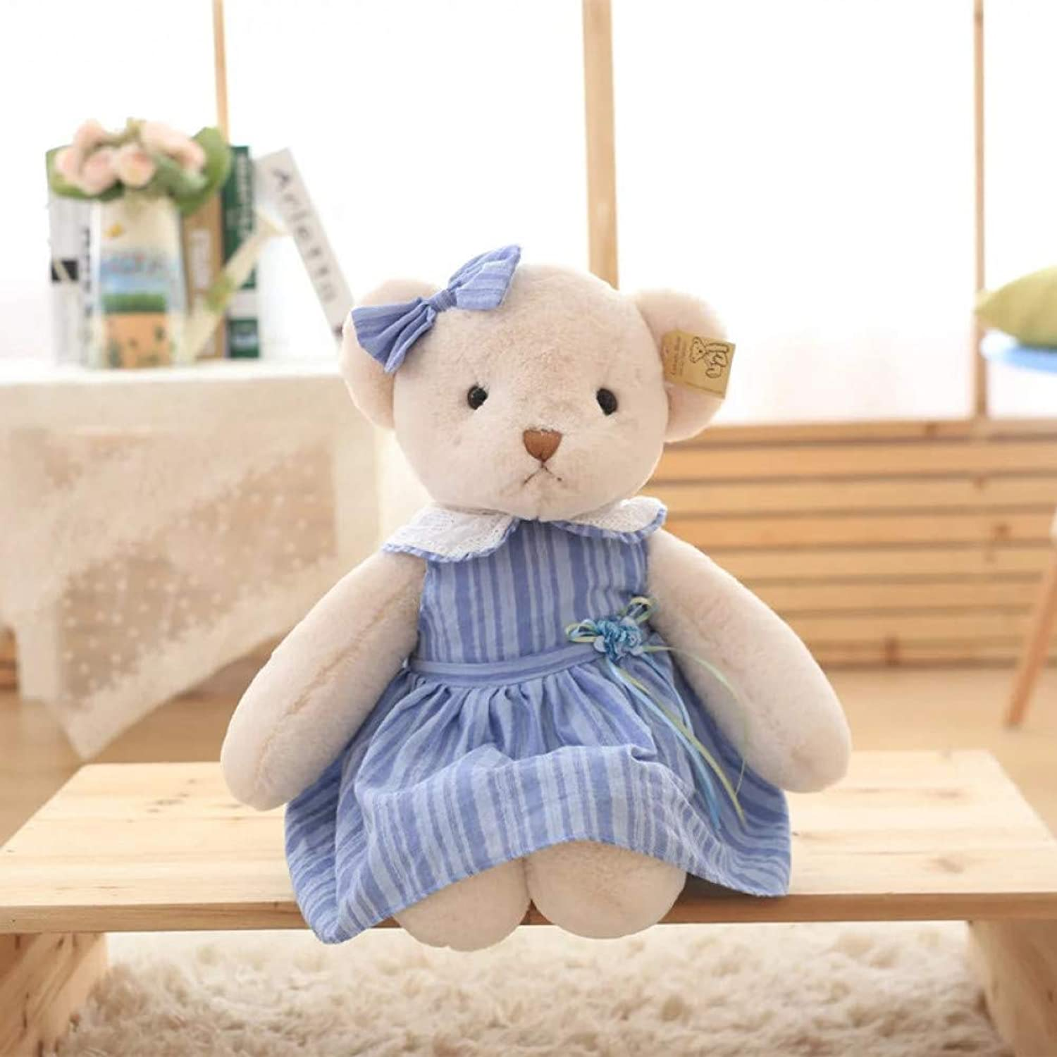 LAIBAERDAN Rural Style Dress Teddy Bear Boutique Bear Doll Dolls To Send Girls Gifts