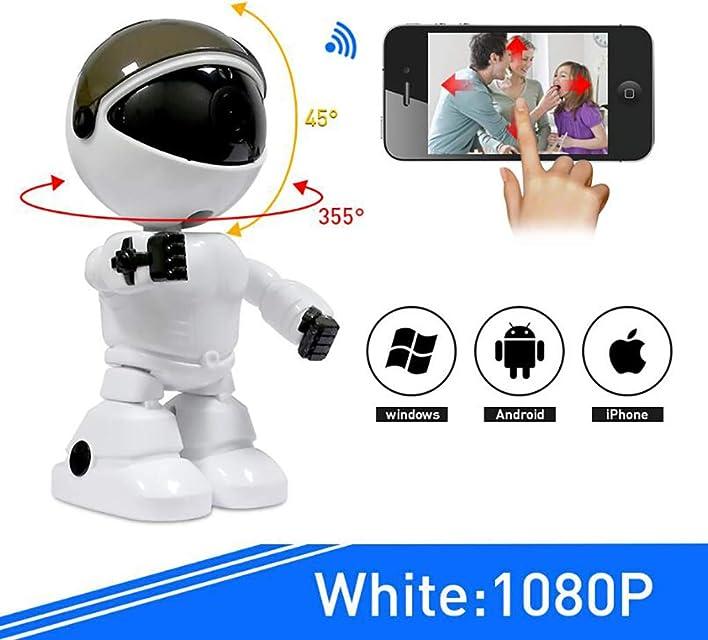 Inteligente WiFi Doméstico Infrarrojo Visión Nocturna Integrada Máquina Red HD Teléfono móvil Monitor Remoto Compatible con Android/iOS