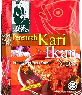Malaysia Mak Nyonya Instant Fish Curry Sauce Spicy Paste Perencah Kari Ikan Easy Cooking 咖喱鱼辣酱 7oz