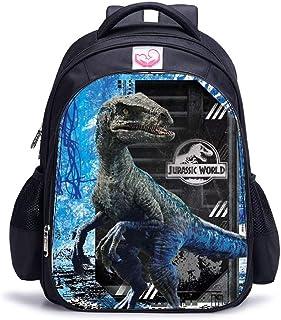 Mochila De Dinosaurio para Niños Cool Cartoon Kindergarten Bolsa para La Escuela