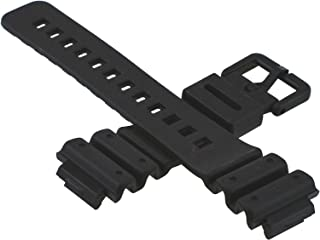 G-shock 71604262 Original Factory Black Rubber Watch Band Strap fits DW-6100-1V DW-6100-7V DW-6900-1V DW-6900G-1V