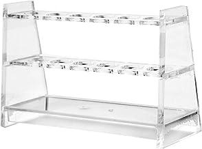 دارنده قفسه آزمایشگاهی آکریلیک پلاستیکی Preamer برای لوله های آزمایشگاهی 15ml 25ml لوله آزمایشگاهی لوله آزمایشگاهی (10 میلی لیتر (6 سوکت))