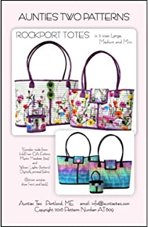 Aunties Two Rockport Tote Ptrn