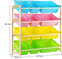 Qichengdian Children's storage box Room For Girls And Boys Neatly Stored Chest Toy Box Suitable For Home Storage Fabric Or Toy Detachable Toy Organizer Ideal for storing toy books and clothes