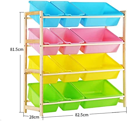 KANGJIABAOBAO Toy Storage Box Room Tidy Storage Chest Toy Box For Girls And Boys Perfect For Household Storage Childrens Toy Box  Color Beige  Size Free size