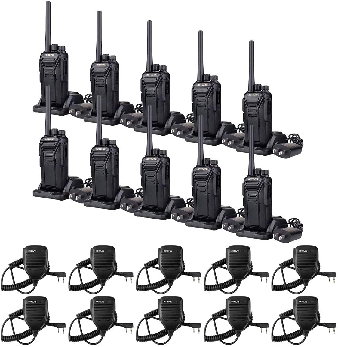 Retevis RT27 2 Way Radio Long excellence Max 84% OFF with Mi Bundle Range Pin Speaker