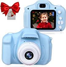 $22 » Leapom Upgrade Kids Selfie Camera, Christmas Birthday Gifts for Boys Age 3-9, HD Digital Video Cameras for Toddler, Portab...