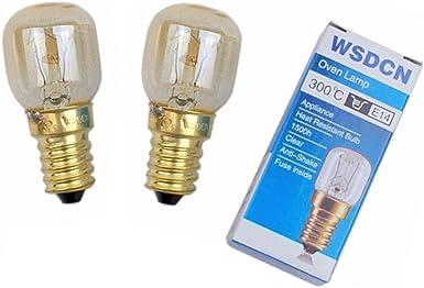 Fits BELLING 25W 300° Degree E14 OVEN LAMP Light Bulb 240V