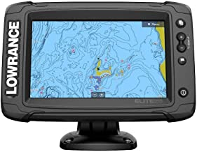 Lowrance Elite-7 Ti2 Fishfinder/Chartplotter Combo with Active Imaging 3-in-1 Transom Mount Transducer & US/Canada Nav+ Chart