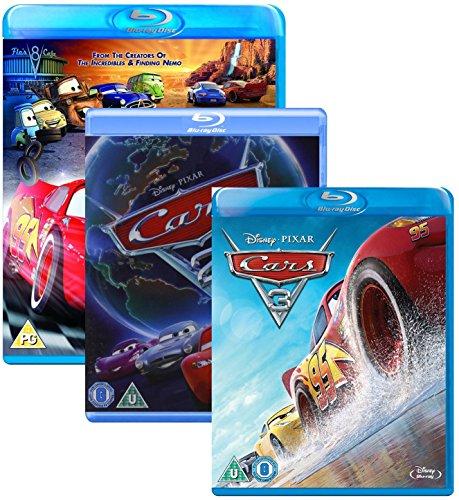 Cars 1 - 3 Box - Walt Disney 3 Movie Bundling Blu-ray