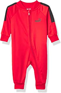 PUMA Boy's Athletic Hoodie Coverall Baby and Toddler Footie