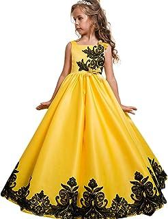 6309e5c72ef60 LZH Robe de Filles Dentelle Soirée Princesse Robes De Fête De Mariage  Cérémonie Baptême Habillée