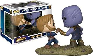 Funko Pop! Marvel Avengers Infinity War Captain America vs. Thanos Movie Moments Exclusive Figure Set