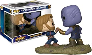 Funko Pop! Marvel Avengers Infinity War Captain America vs. Thanos Movie Moments Exclusive Figure Set