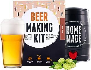 Kit para hacer cerveza – sin filtrar Pale Ale en un barril de 5 litros – listo en 7 días – regalo perfecto
