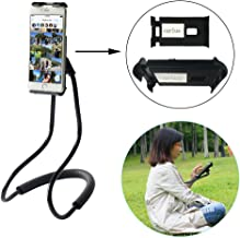Lazy Neck Phone Holder Flexible Cell Phone Holder Bed Stand Long Arm Lazy Bracket DIY Free Rotating Stand with Multiple Function for iPhone 8 7 X 6S 6 Plus, Galaxy S8 S7 S6 S5 S4…
