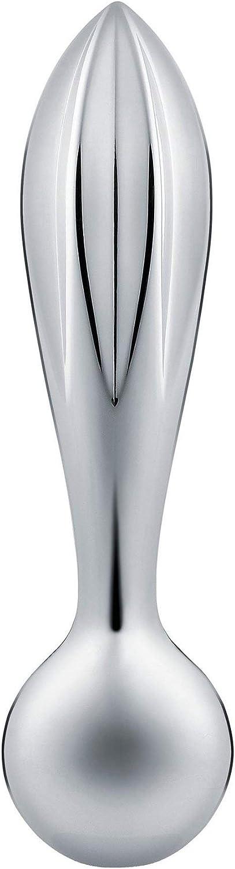 Alessi Exprimidor de Acero Inoxidable 18/10, Acabado Brillante GV33Valerio