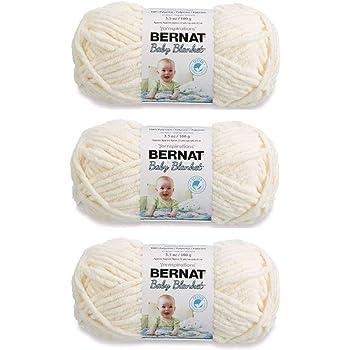 Bernat 161103-3008 Baby Blanket Yarn - Vanilla