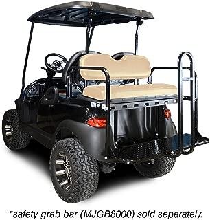 Madjax 01-001 Genesis 150 Rear Flip Seat Kit for 2004-Up Club Car Precedent Golf Carts Buff Cushions