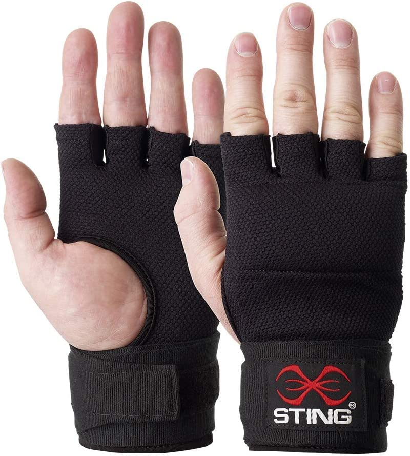 Sibiga Elastic Muay Thai Hand Wraps 5m Pink