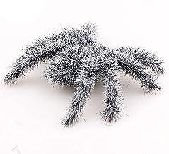 Holmeey Halloween Spider, 6 stks Kunstmatige Harige Spider, Griezelige Spin Enge Yard Outdoor Decor, Props Haunted House B...