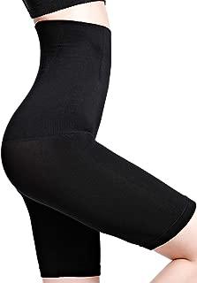 Womens High Waist Tummy Control Shaper Shorts Butt Lifter Slimming Bodysuit Shaperwear Underwear Mid-Thigh Panties