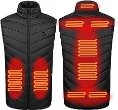 Verwarmd vest USB Lichtgewicht warme jas Winter Slim Fit jas Waterdicht skivest voor verlichting van rugpijn Hele lichaam ...