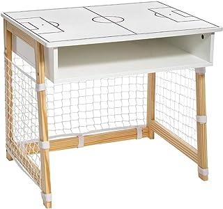 Atmosphera - Bureau d'écolier en Bois Esprit Cage de Foot H 52 cm