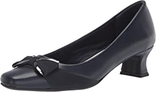 Easy Street womens Pump, Navy, 9 Wide US