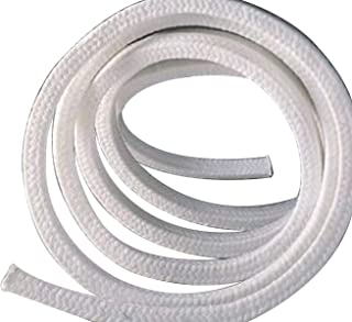 4 x 4 x 4000mm Teflon PTFE Square Braided Rope Gasket Gland Packing