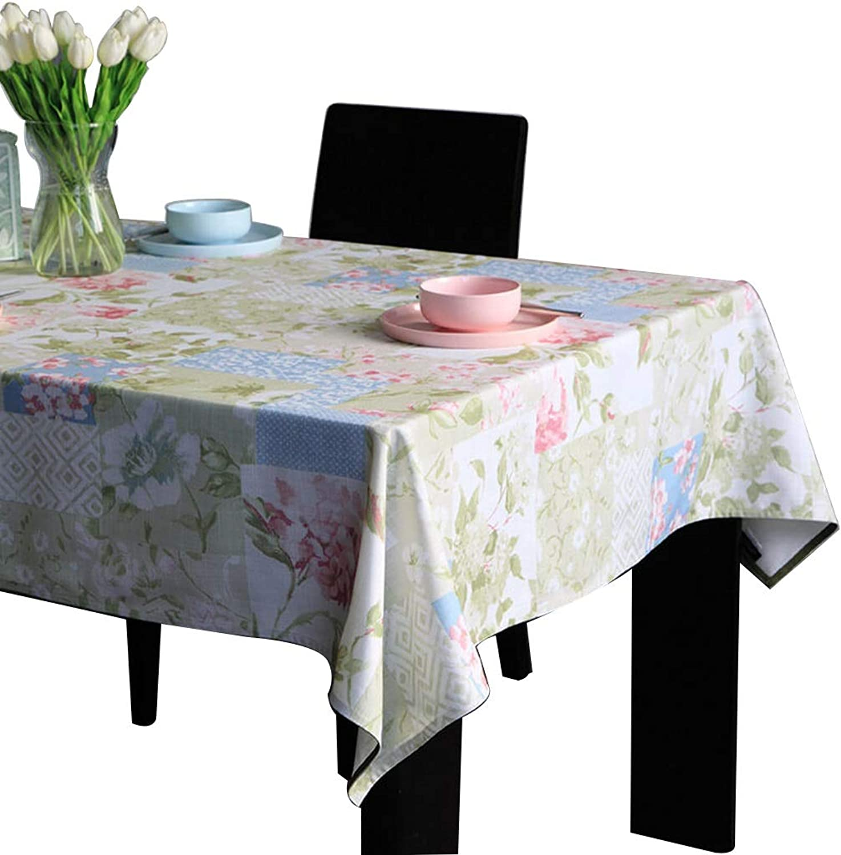 oferta especial RenShiMinShop Clásico Clásico Clásico lino de imitación impreso mantel pequeño dulce mesa de café soporte de TV mesa de comedor cubierta de mesa (Talla   135cm220cm)  ventas en linea