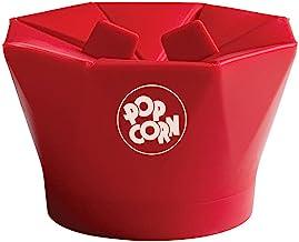 Chef'n PopTop Microwave Popcorn Popper (Cherry)