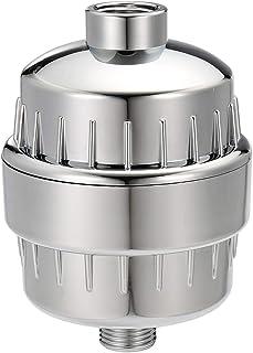 Baban お風呂浄水器 カートリッジ(2個セット) 肌に悪い塩素、重金属、硬水を浄化するウォーターフィルター 抗菌 消臭 節水 99%シャワーヘッド対応 乾燥した髪/皮膚に適して シールテープ、パッキン付属