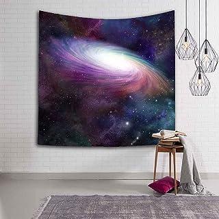 WERT Magnifik Big Bang Nebula Landskap Väggmonterad Aurora Tryckt Gobeläng Heminredning Konst Gobeläng A2 180 x 200 cm