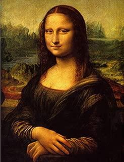 WHIRLGEE Leonardo Di Piero da Vinci Mona Lisa Painting World Classic Art Print Copy Copy Wall Art Canvas Production (1)