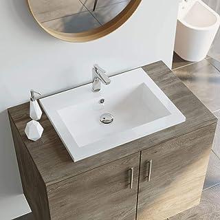 Amazon.fr : vasque de salle de bain rectangulaire